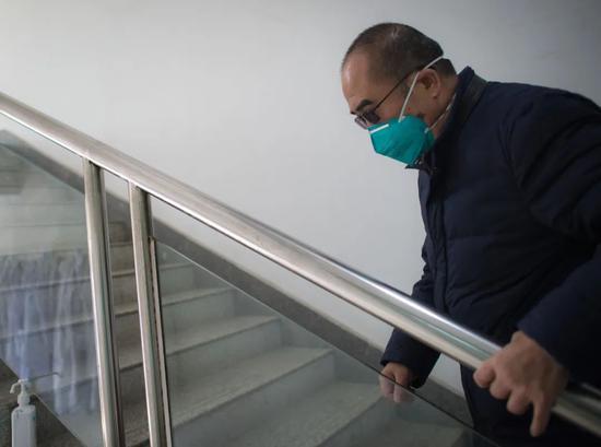 """1月29日,疫情""""风暴眼""""中的武汉金银潭医院"""