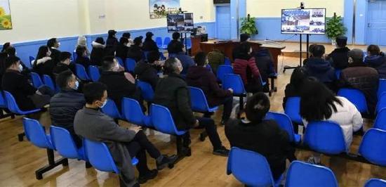 庭審旁聽現場。圖源:南昌市中級人民法院