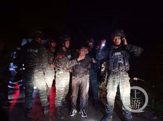 江西致3死1伤嫌犯李有华落网 警方:他出来找食时被抓