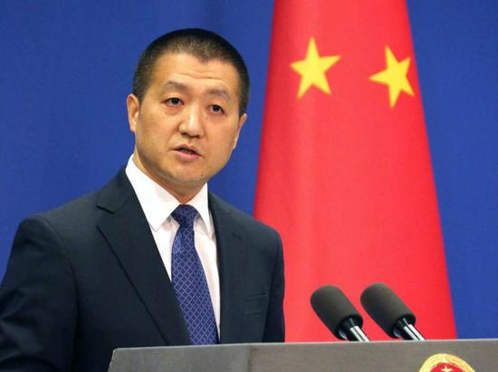 3月1日,外交部发言人陆慷主持例行记者会。