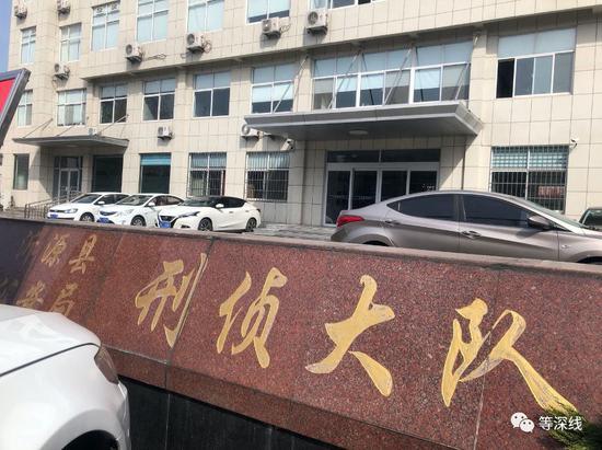 房洪彪被审讯后招供的地点。《等深线》记者 郝嘉奇 摄