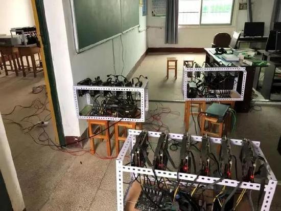 """湖南一中学校长迷上炒币,偷偷""""挖矿""""搞垮全校供电和网络"""