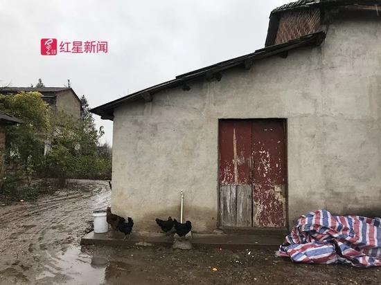▲吴兵之前和爷爷奶奶住的老房子。