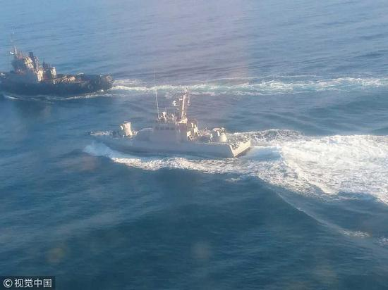 刻赤海峡冲突照样异国懈弛迹象。(视觉中国)