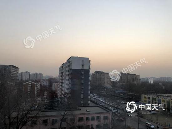 北京未来三天气温缓慢攀升早晚仍寒 扩散条件转差