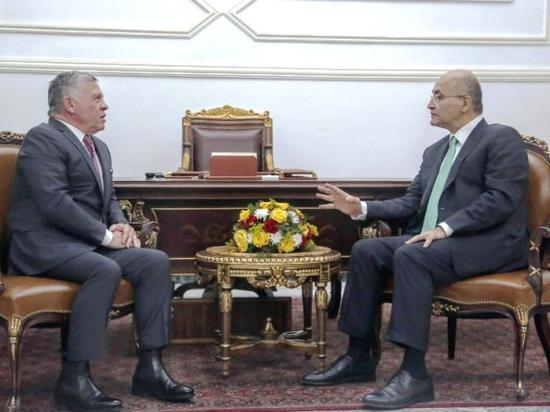 纷至沓来 多国政要密集访问伊拉克