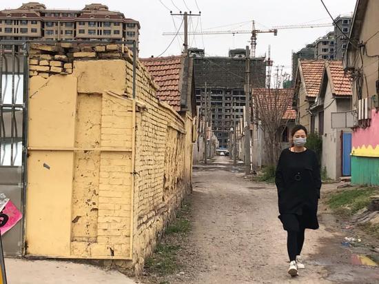 2019年4月8日,事发地山东诸城五里堡村。新京报记者向凯摄