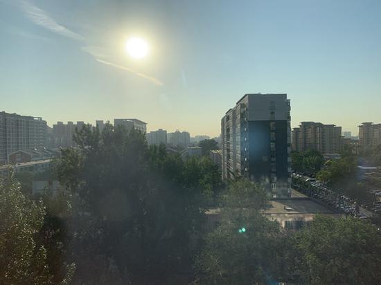 今日北京高温将达到巅峰 直奔40℃