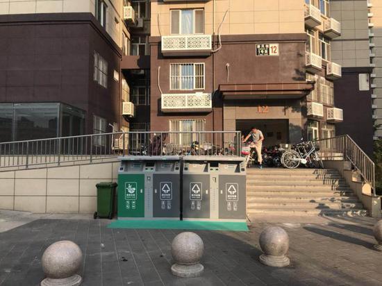 北京一小區垃圾分類用上人臉識別 累計積分可兌獎