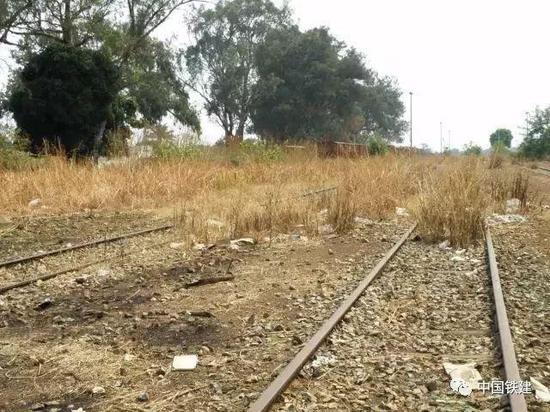安哥拉本格拉铁路旧貌
