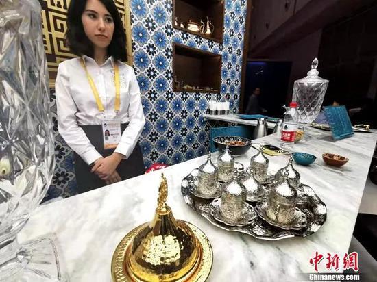 土耳其糖果。中新网记者 李金磊 摄