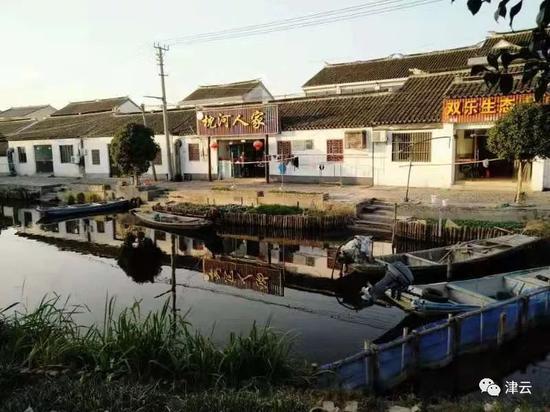 阳澄湖岸边