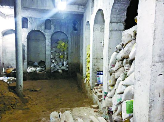 被曝光的私挖地下室