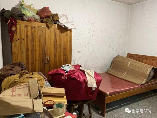 ▲陈贵平和父亲曾经居住的房间。新京报记者 赵朋乐 摄