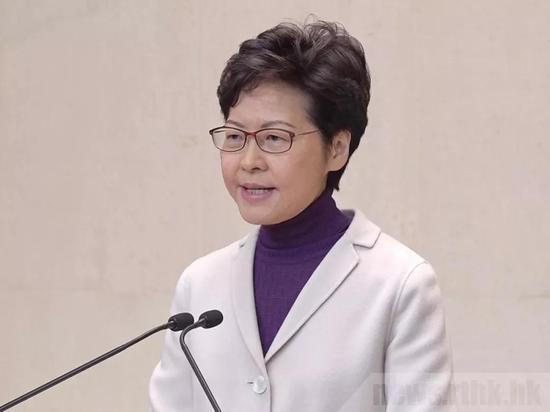 12月3日,林郑月娥表示,特区政府表示强烈反对美国通过《香港人权与民主法案》,对于外交部提出的制裁美方做法,特区政府将作出配合及跟进(来源:港媒)