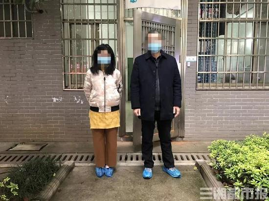 ▲2月7日,赵娟[化名]从郴州市第二人民医院治好出院。