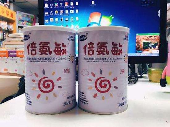 湖南再现大头娃娃 奶粉生产方回应称没有夸大宣传