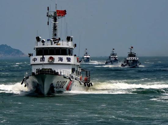 中国海警巡航钓鱼岛早已常态化
