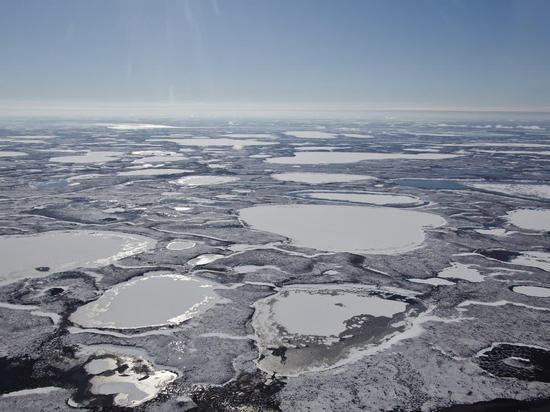 正在解冻的永冻层图据英国《自力报》