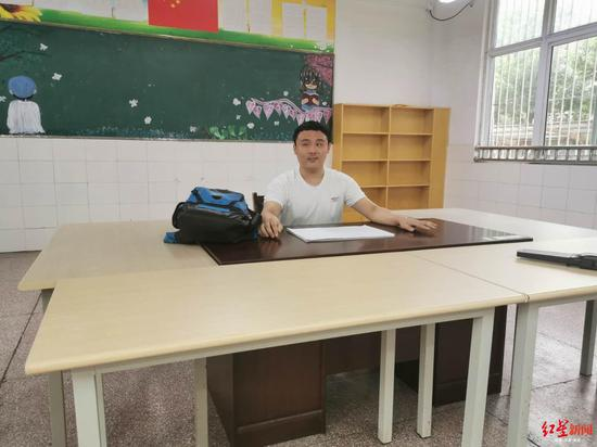 635分盲人高考生昂子喻:未来想去特教学校当老师