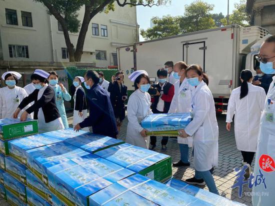 羊来了,请2495名广东援鄂医护人员查收!