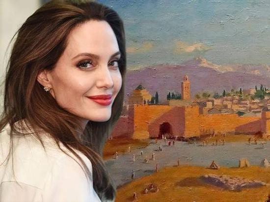 安吉丽娜-朱莉出售丘吉尔二战唯一画作,系前夫皮特的礼物