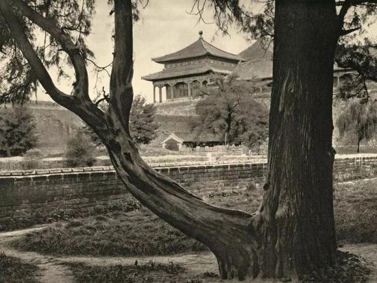从中山公园望午门