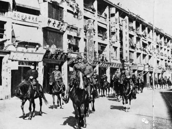 日军入侵香港