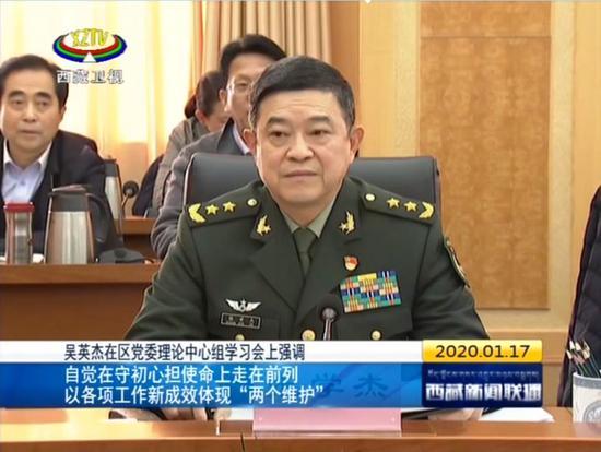 解放军2位中将履新 5省军区首长调整(图)