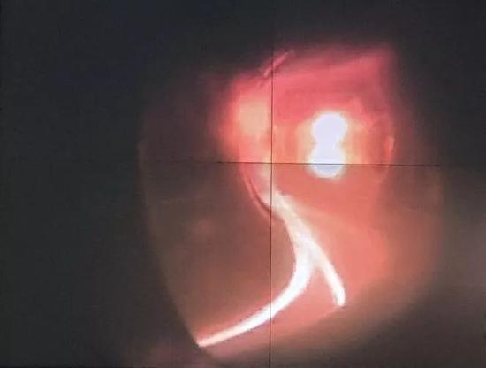 环流器二号A装置内部工作场景截图。
