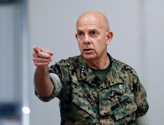美国海军陆战队司令戴维·伯杰