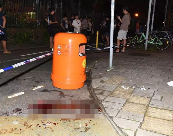 香港将军澳发生持刀伤人事件 造成3人受伤