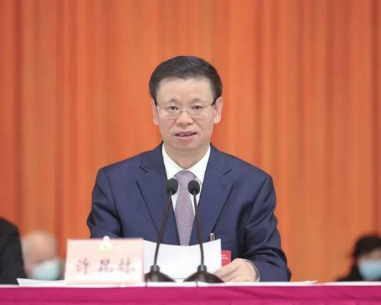 许昆林任江苏省副省长、代理省长