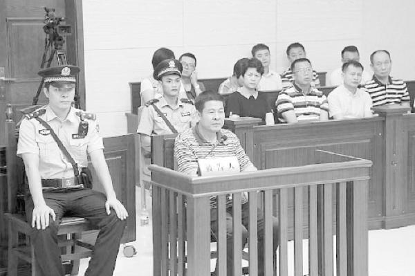 庭审现场。 检察日报 图