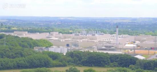 丰田在英工厂 视频截图