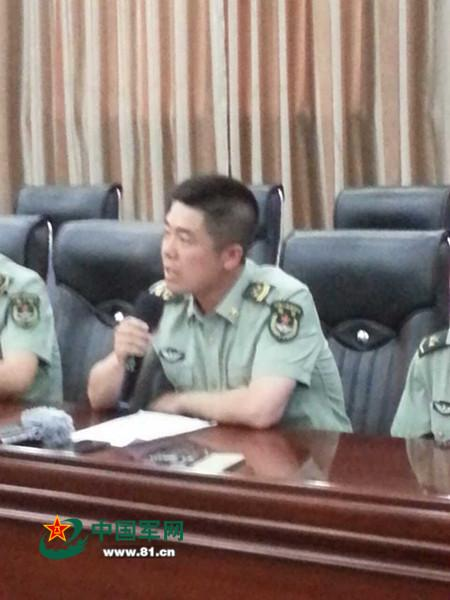 申亮亮父亲:孙子长大后想让他去当兵