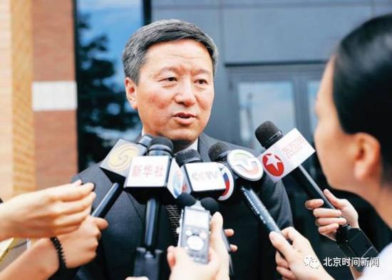 王志东此前蒙受媒体记者采访(图片来自收集)