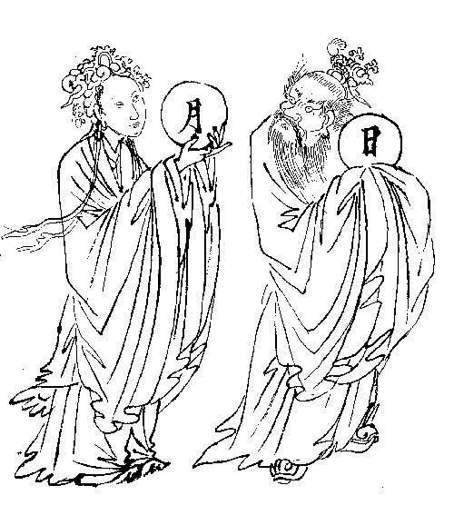 月神和日神(《塑神秘谱》)