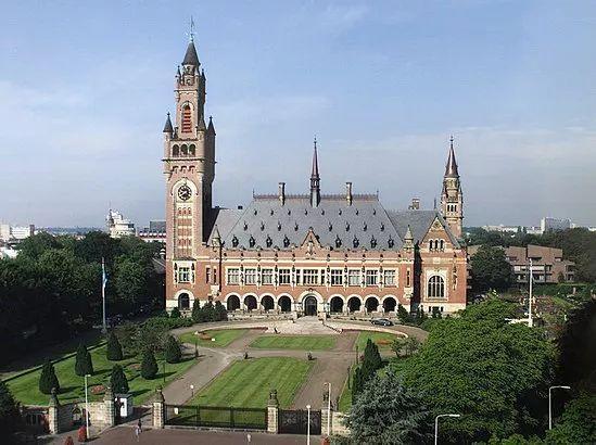 国外法院当今座落于海牙平易宫