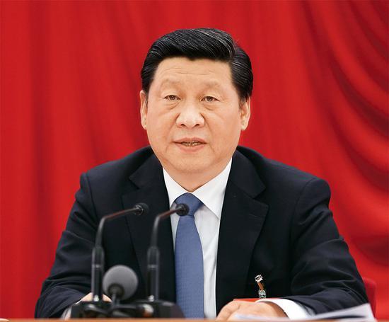 中国共产党第十八届中央委员会第三次全体会议,于2013年11月9日至12日在北京举行。全会由中央政治局主持,中央委员会总书记习近平作重要讲话。 新华社记者 兰红光/摄