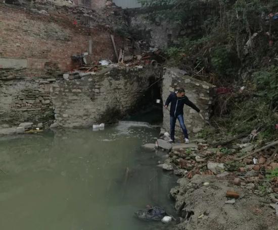 湖北天门直排污水