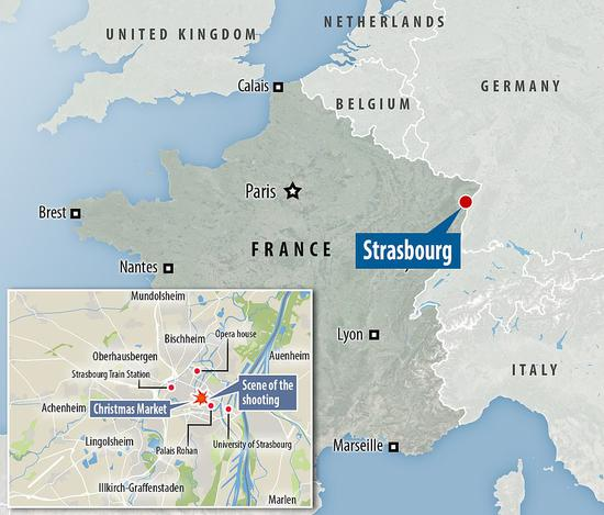 上面的地图表现了进攻发生的地区。
