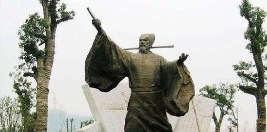 王安石塑像
