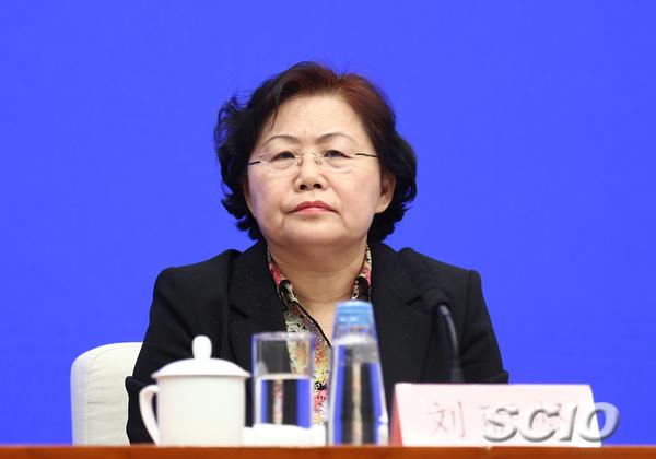 国家税务总局总审计师刘丽坚(张馨 摄)