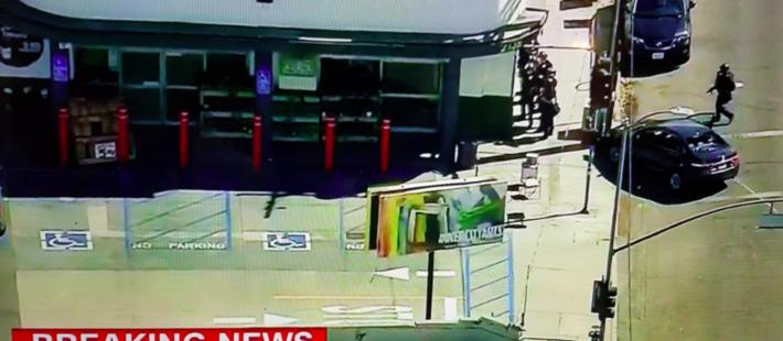 洛杉矶超市发生人质劫持事件