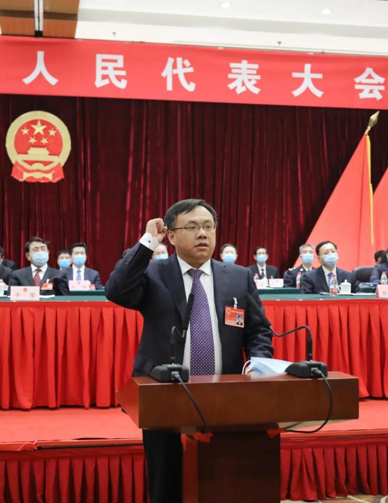 王合生當選北京海淀區人民政府區長