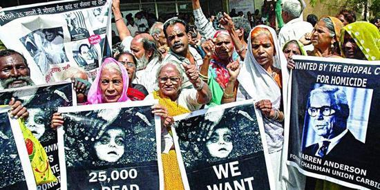 印度102人在最严重化工灾难中幸存 却死于新冠