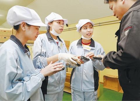 在日本工作的外国人(日本河北新报)