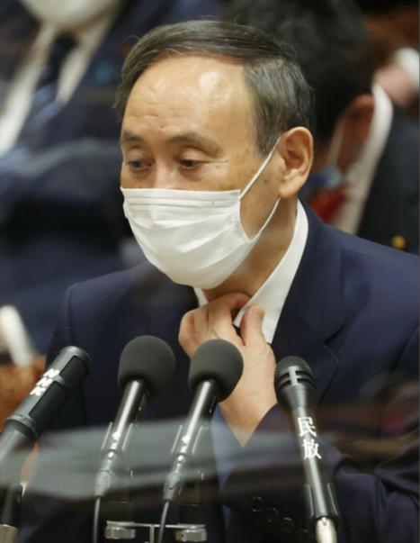 资料图:菅义伟(时事通讯社)