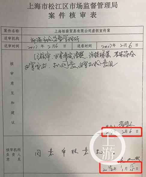 ▲核审时间近一年被指超期办案。摄影/上游新闻记者 时婷婷